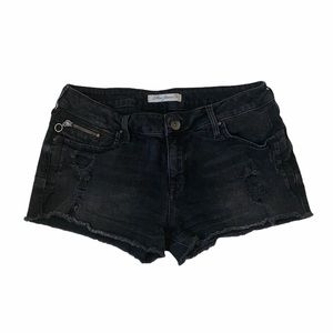 Mavi Jeans Black Shorts-29